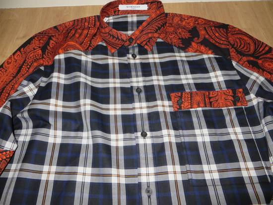 Givenchy Paisley-check print shirt Size US S / EU 44-46 / 1 - 10