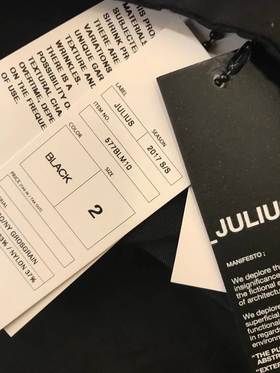 Julius 577BLM10 Gross Grain Multi Pocket Jacket Size US S / EU 44-46 / 1 - 12