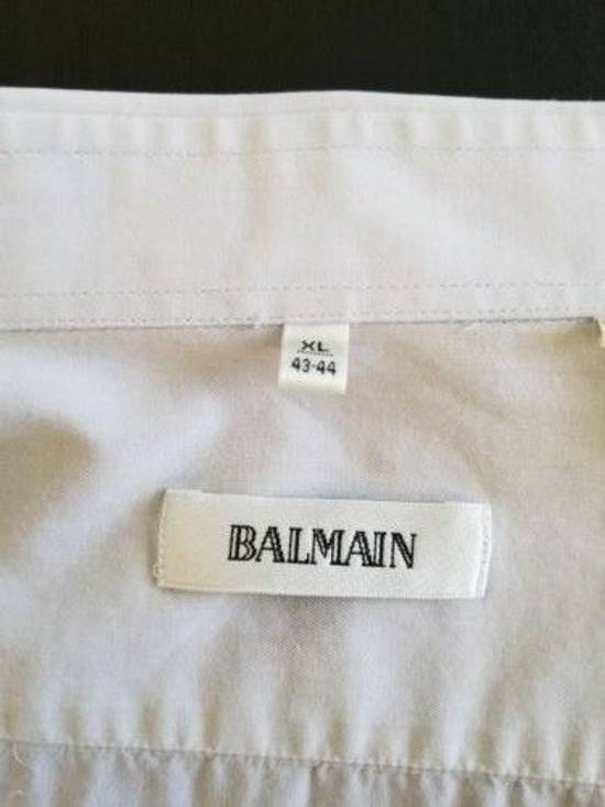 Balmain Last Drop! Vintage Balmain Paris Button Up Down Dress Shirt Size US XL / EU 56 / 4 - 1
