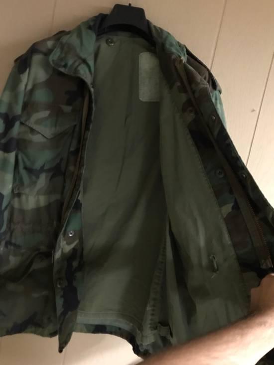 3e8b8a616078e ... Vintage Vintage Military Surplus Heavy Duty Camo Jacket Size US L / EU  52-54 ...