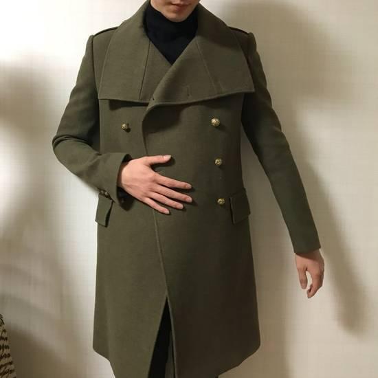 Balmain 11 FW Military high neck coat Size US M / EU 48-50 / 2 - 2