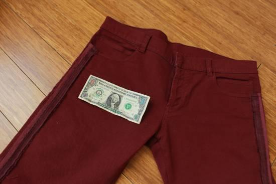 Balmain Embroidered Trim Slim Jeans Size US 32 / EU 48 - 2