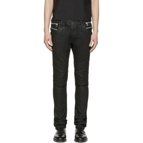 Balmain Balmain black coated biker size 28 Size US 28 / EU 44 - 5
