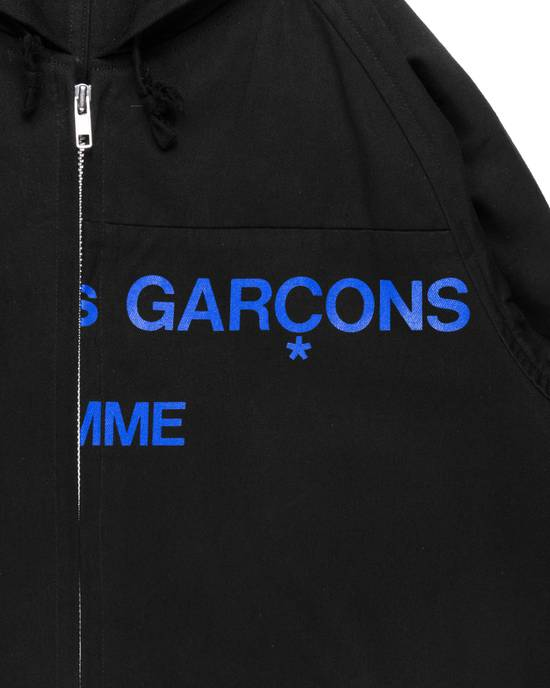 Comme des Garcons AW01 Split Logo Hooded Work Jacket Size US M / EU 48-50 / 2 - 1