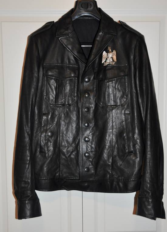 Balmain Black leather jacket Decarnin Size US M / EU 48-50 / 2 - 1