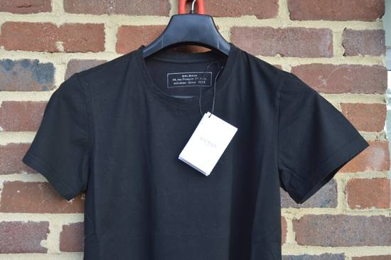 Balmain Black Distressed T-shirt Size US XS / EU 42 / 0 - 1