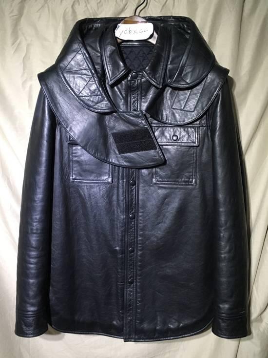Givenchy FW09 LEATHER HOODED PADDED JACKET Size US S / EU 44-46 / 1