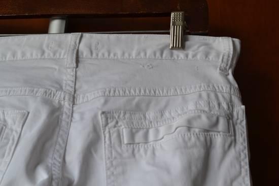 Balmain white biker pant Size US 32 / EU 48 - 3