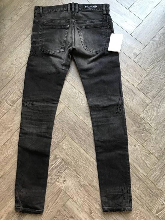 Balmain grey washed denim Size US 28 / EU 44 - 2