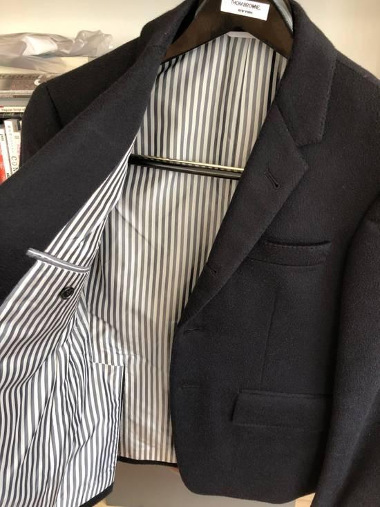 Thom Browne Thom Browne Cashmere navyblue blazer Size 34R - 9