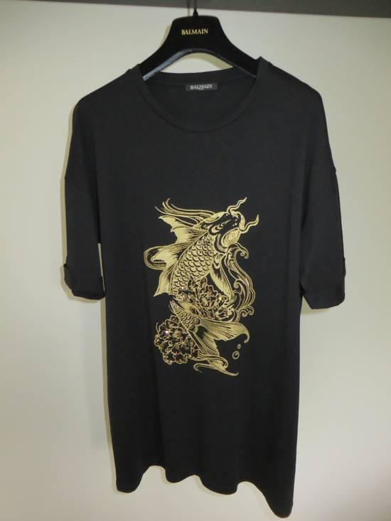 Balmain Embroidered fish t-shirt Size US M / EU 48-50 / 2