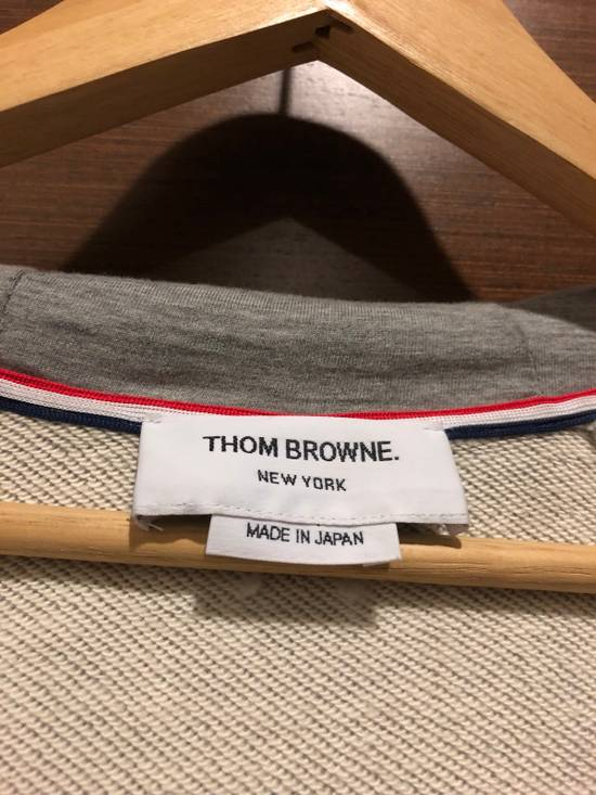 Thom Browne Striped Jersey Zip Up Hoodie Size US L / EU 52-54 / 3 - 2
