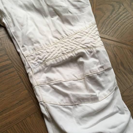 Balmain Balmain White Biker Pants Size US 36 / EU 52 - 8