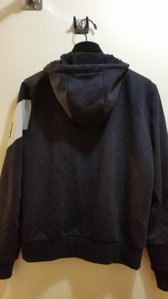 Thom Browne Gamme Bleu Stripe-Detail Hoodie Size US M / EU 48-50 / 2 - 10