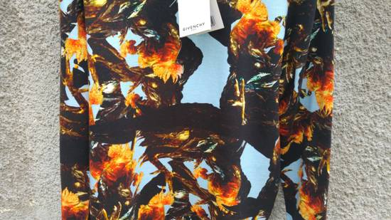 Givenchy $760 Givenchy Monkey Rooster Fight Print Rottweiler Stars Sweater size L Size US L / EU 52-54 / 3 - 6