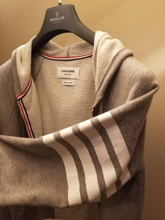 Thom Browne Grey Thom Browne Zip Up Hoodie Size 2 (Medium) Size US M / EU 48-50 / 2 - 2