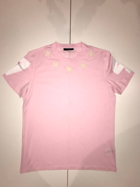 Givenchy Givenchy Pink 47 Tshirt With Embroidered Stars Size US L / EU 52-54 / 3