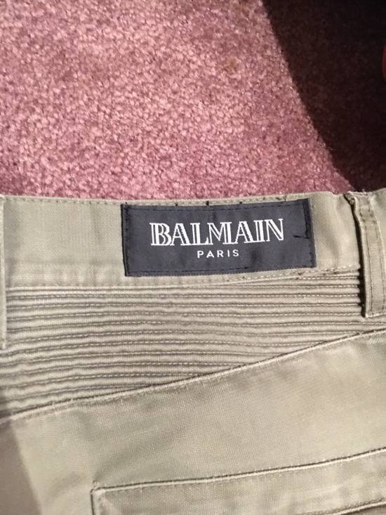 Balmain Distressed Olive Green Balmain Size US 31 - 12