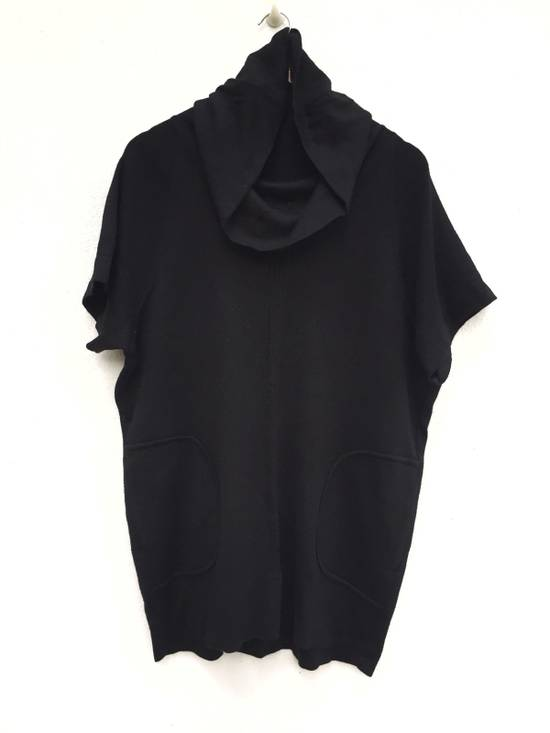 Balmain Authentic Japan Market Black Minimalist Shawl Collar Double Pocket Oversized Stretch Shirt Size US L / EU 52-54 / 3