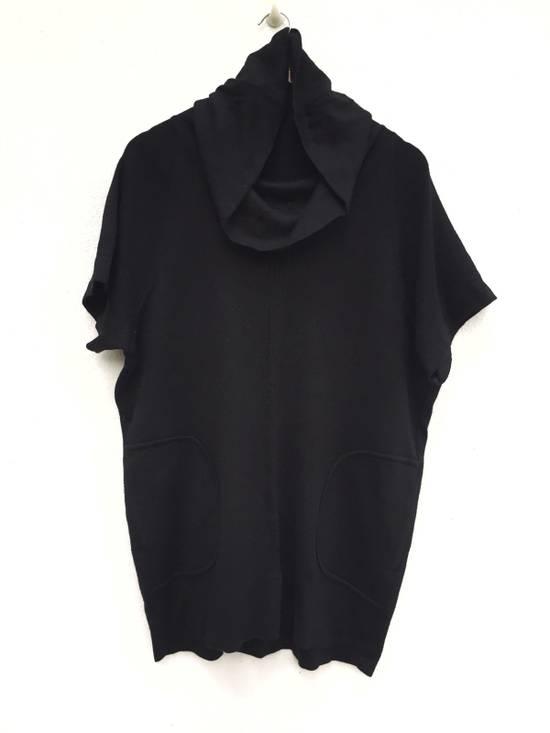 Balmain Authentic Japan Market Black Minimalist Shawl Collar Double Pocket Oversized Stretch Shirt Size US L / EU 52-54 / 3