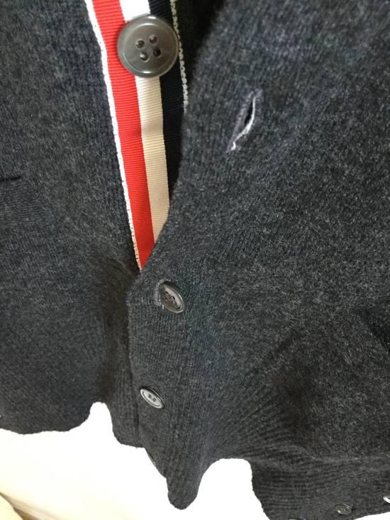Thom Browne Brand New Cardigan Classic Dark Grey size 2 Size US M / EU 48-50 / 2 - 4