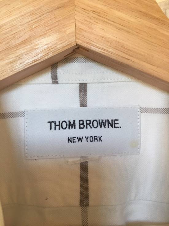 Thom Browne Short Sleeves Oxford Shirt Size 1 Size US S / EU 44-46 / 1 - 3