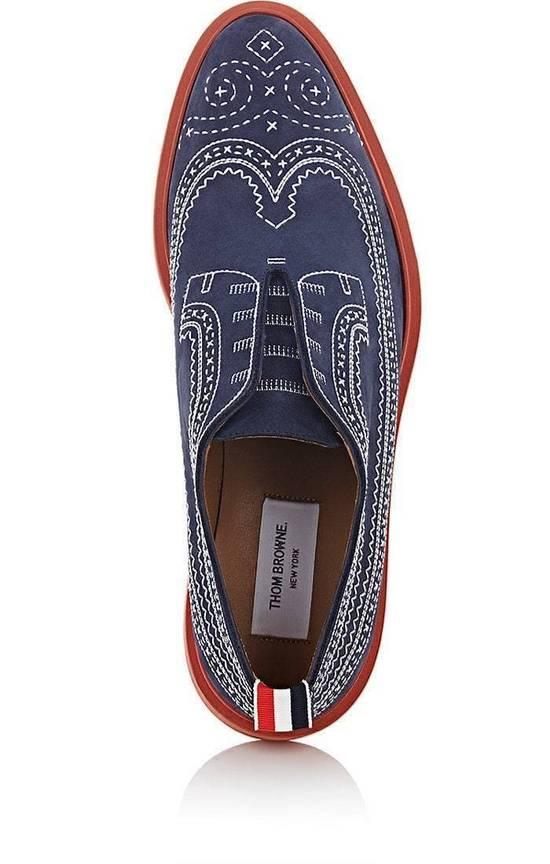 Thom Browne Stitched Nubuck Laceless Balmorals Size US 7 / EU 40 - 6