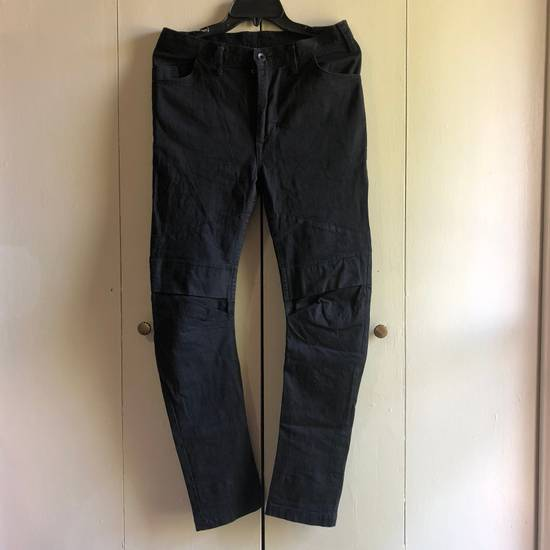 Julius 8oz Stretch Black Denim Size US 30 / EU 46