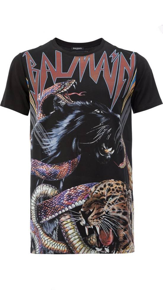 Balmain Balmain Animal Print T-Shirt Size US M / EU 48-50 / 2 - 1