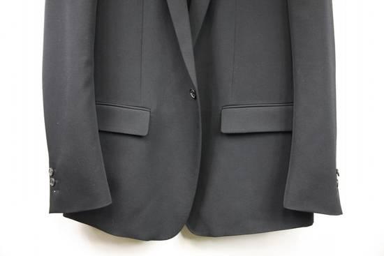 Balmain $2500 Balmain Slim Black One Button Wool Blazer Jacket Blouson Sz 50 48 M Medium Size 40R - 2