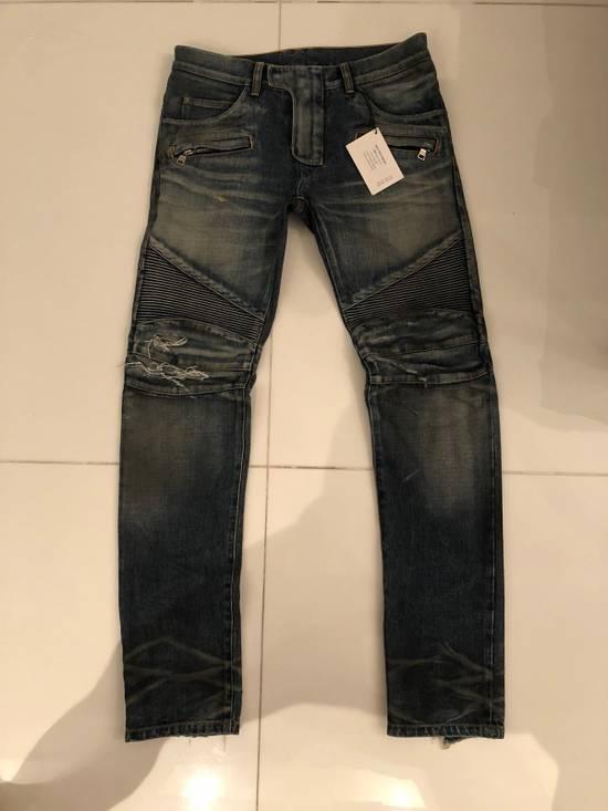 Balmain Biker Jeans Size 31 Size US 31 - 3