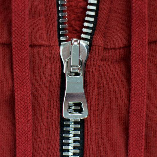 Balmain Red Cotton Hooded Zipper Sweatshirt Size 2XL Size US XL / EU 56 / 4 - 1