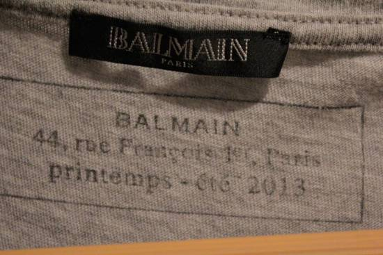 Balmain Rare 2013 Long T-Shirt Grey Made In France Size US S / EU 44-46 / 1 - 4