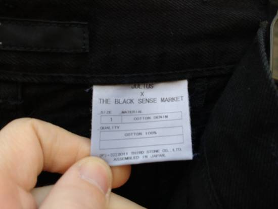 Julius Black Curved Seam Jeans (FINAL DROP) Size US 32 / EU 48 - 6