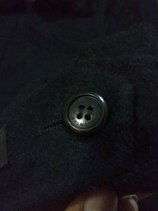 Balmain Vintage Jacket Wool With Fur BALMAIN Rare Size US L / EU 52-54 / 3 - 10