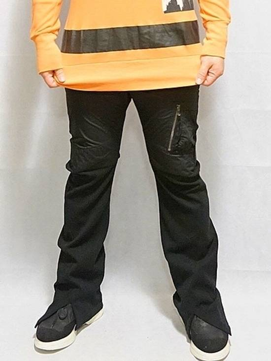 Julius BNWT 2017SS Limited Cargo Slit Cut Flare Wide Pants Size US 32 / EU 48 - 1