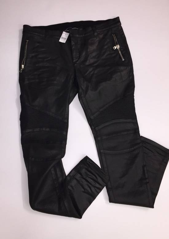 Balmain Grey Waxed Balmain Denim Size US 36 / EU 52