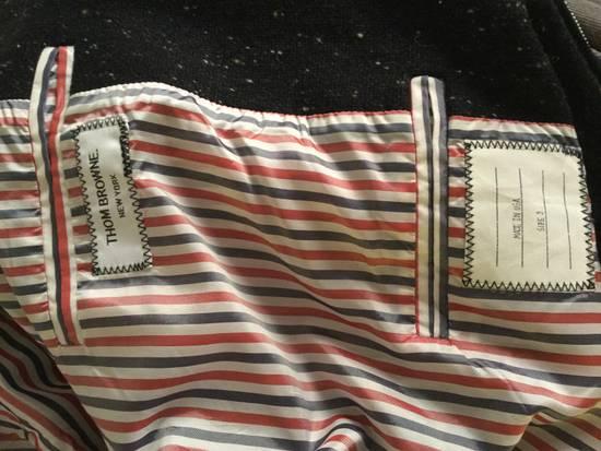 Thom Browne Calf Leather sleeve Wool bomber Size US L / EU 52-54 / 3 - 5