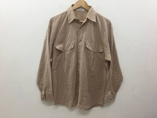 Givenchy 80's GIVENCHY button up double pocket 52% seta 42% cotton luxury made in italy Size US M / EU 48-50 / 2