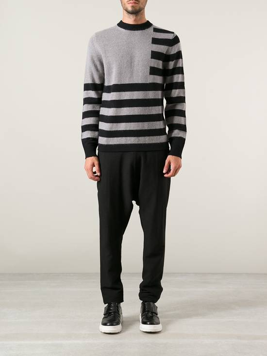 Givenchy Givenchy Striped Stars Wool and Mohair Cuban Fit Knit Sweater size XL (M / L) Size US XL / EU 56 / 4 - 1