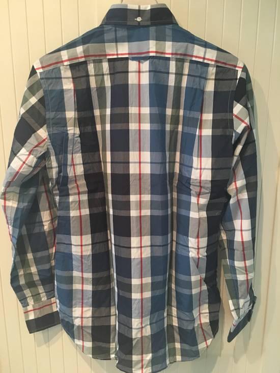 Thom Browne Large Madras Check Poplin Cotton Shirt Size US M / EU 48-50 / 2 - 5
