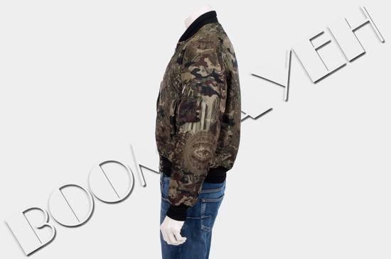 Givenchy 2995$ American Dollar Camouflage Bomber Jacket Size US S / EU 44-46 / 1 - 3