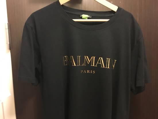 Balmain Balmain gold logo shirt Size US XL / EU 56 / 4