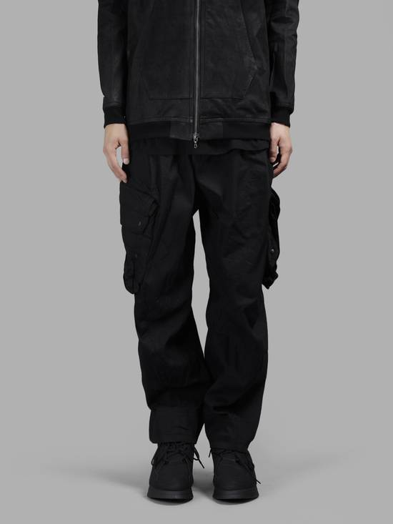 Julius NO MORE DROP, Black Gas Mask Cargo Pants SIZE 3 Size US 33 - 3