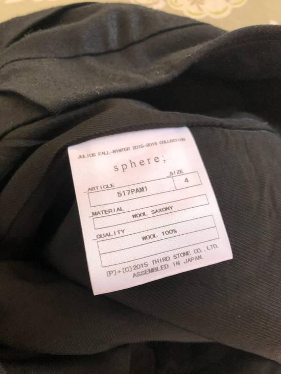 Julius Black Casual Pants Size US 34 / EU 50 - 4