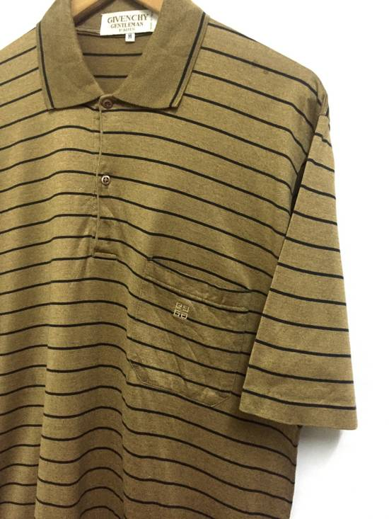 Givenchy Vintage 90s Givenchy Gentleman striped polo shirt made in italy Size US M / EU 48-50 / 2 - 1