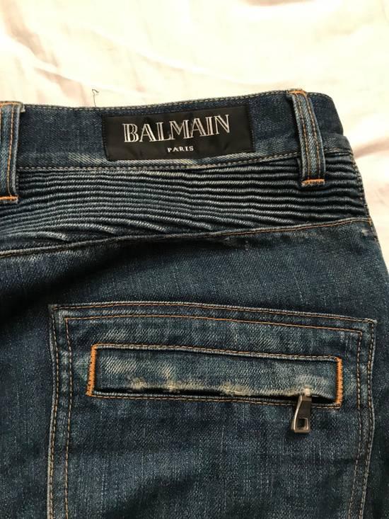 Balmain Balmain Biker Denim 2013 Release Size US 30 / EU 46 - 9