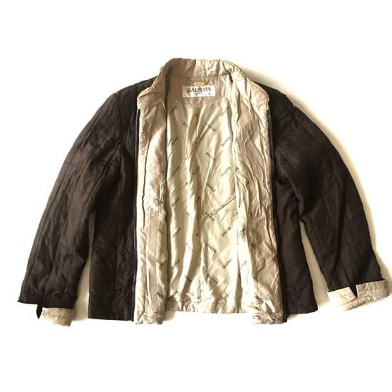 Balmain Final Drop! Balmain Quilted Silk Jacket Size US S / EU 44-46 / 1 - 1