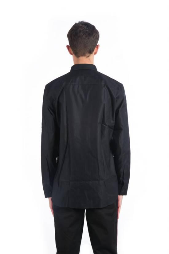Givenchy Metallic Tipped Collar Shirt (Size - 43) Size US S / EU 44-46 / 1 - 2