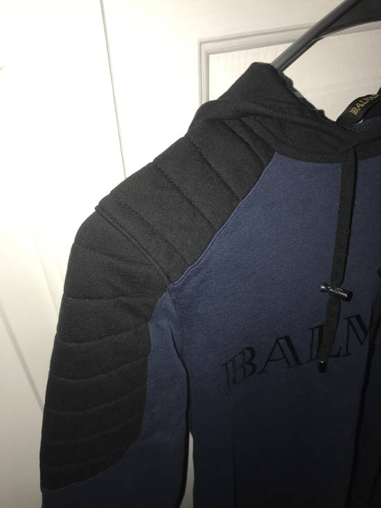 Balmain Balmain x H&M Hoodie (Blue) Size US XS / EU 42 / 0 - 2